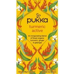 Pukka Org. Teas Tumeric active thee (20 zakjes)