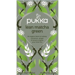 Pukka Org. Teas Lean match green tea (20 zakjes)