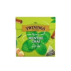 Twinings Groene thee munt chai (20 zakjes)