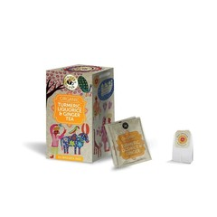 Ministry Of Tea Tumeric liquorice ginger bio (20 zakjes)