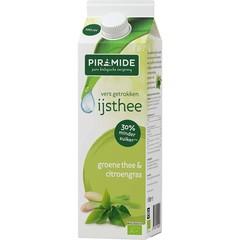 Piramide IJsthee groene thee & citroengras (1 liter)