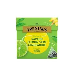 Twinings Groene thee limoen gember (20 stuks)