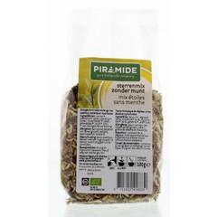Piramide Sterrenmix zonder munt thee eko (120 gram)