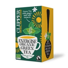 Clipper Energise green tea (20 zakjes)
