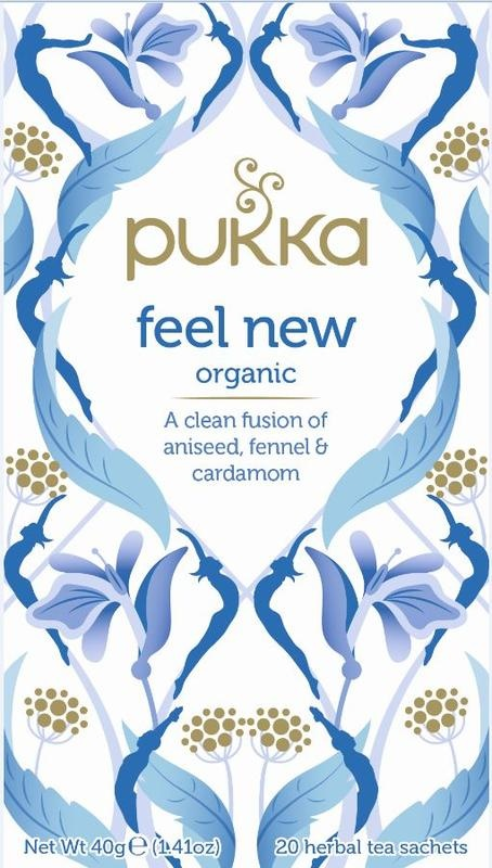Pukka Org. Teas Feel new (20 zakjes)