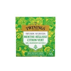 Twinings Munt zoethout limoen thee (20 zakjes)