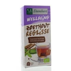Damhert Tea time zoethoutthee (20 zakjes)