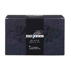 Mr Jones Black beauty zwarte thee (20 zakjes)