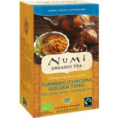 Numi Turmeric tea golden tonic (12 stuks)