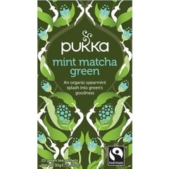 Pukka Org. Teas Mint matcha green (20 zakjes)
