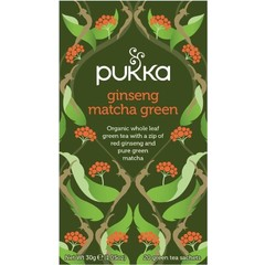 Pukka Org. Teas Ginseng matcha green (20 zakjes)
