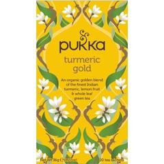 Pukka Org. Teas Turmeric gold (20 zakjes)