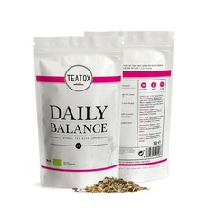 Teatox Bio Thee Daily balance tea lemongrass bio refill (50 gram)