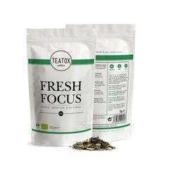Teatox Bio Thee Fresh focus green tea ginkgo bio refill (70 gram)