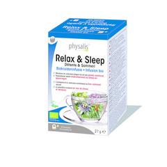 Physalis Relax & sleep bio thee (20 stuks)