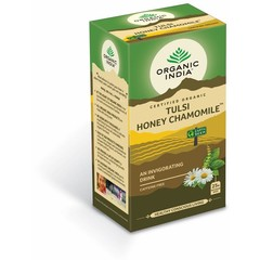 Organic India Tulsi honey chamomile thee bio (25 zakjes)