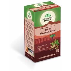 Organic India Tulsi masala chai thee bio (25 zakjes)