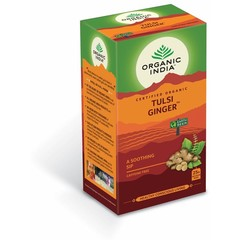 Organic India Tulsi ginger thee bio (25 zakjes)