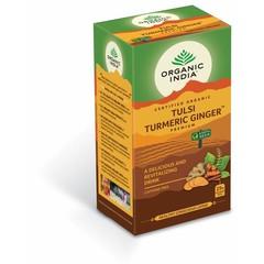 Organic India Tulsi turmeric ginger thee bio (25 zakjes)