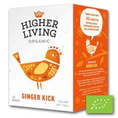 Higher Living Ginger kick (15 zakjes)