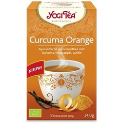 Yogi Tea Turmeric/Curcuma orange (17 zakjes)