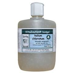 Vitazouten Kalium muriaticum/chloratum huidgel Nr. 04 (90 ml)