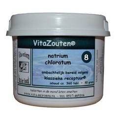 Vitazouten Natrium chloratum/mur. Nr. 08 (360 tabletten)