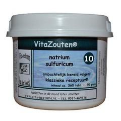 Vitazouten Natrium sulfuricum VitaZout Nr. 10 (360 tabletten)