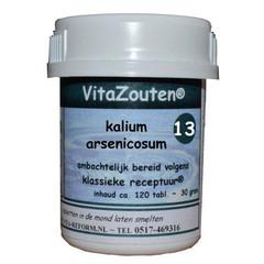 Vitazouten Kalium arsenicosum VitaZout Nr. 13 (120 tabletten)
