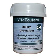 Vitazouten Kalium bromatum VitaZout Nr. 14 (120 tabletten)