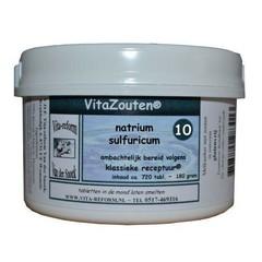Vitazouten Natrium sulfuricum VitaZout Nr. 10 (720 tabletten)