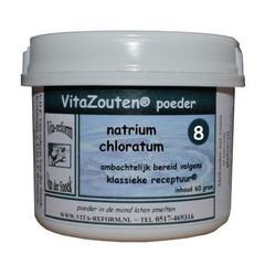 Vitazouten Natrium chloratum/mur. poeder Nr. 08 (60 gram)