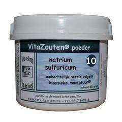 Vitazouten Natrium sulfuricum poeder Nr. 10 (60 gram)