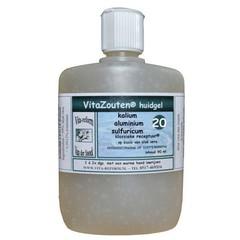 Vitazouten Kalium aluminium sulfuricum huidgel Nr. 20 (90 ml)