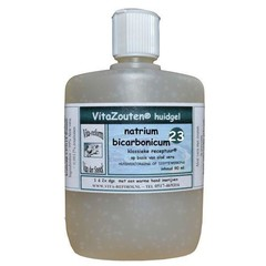 Vitazouten Natrium bicarbonicum huidgel Nr. 23 (90 ml)