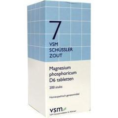 VSM Magnesium phosphoricum D6 Schussler 7 (200 tabletten)