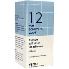 VSM Calcium sulfuricum D6 Schussler 12 (200 tabletten)