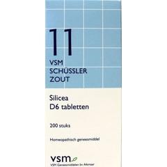 VSM Silicea D6 Schussler 11 (200 tabletten)