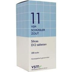 VSM Silicea D12 Schussler 11 (200 tabletten)