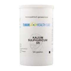 Timm Health Care Kalium sulphuricum D6 6 Schussler (300 tabletten)