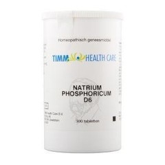 Timm Health Care Natrium phosphoricum D6 9 Schussler (300 tabletten)