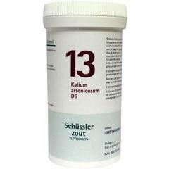 Pfluger Kalium arsenicosum 13 D6 Schussler (400 tabletten)