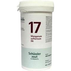 Pfluger Manganum sulfuricum 17 D6 Schussler (400 tabletten)