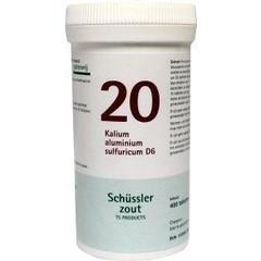 Pfluger Kalium aluminium 20 D6 Schussler (400 tabletten)
