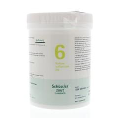 Pfluger Kalium sulfuricum 6 D6 Schussler (1000 tabletten)