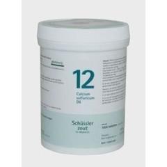Pfluger Calcium sulfuricum 12 D6 Schussler (1000 tabletten)