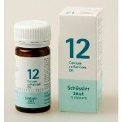 Pfluger Calcium sulfuricum 12 D6 Schussler (100 tabletten)