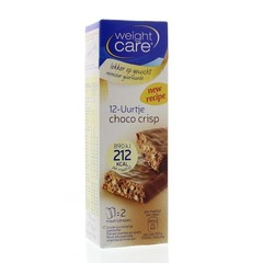 Weight Care Maaltijdreep choco crisp (2 stuks)