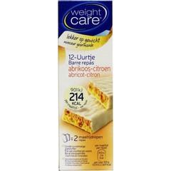 Weight Care Maaltijdreep abrikoos/citroen (2 stuks)