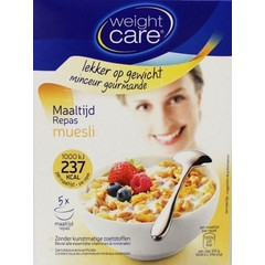 Weight Care Muesli krokant (5 sachets)